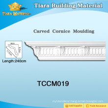 Decorative Wall Crown Plastic PU Moulding