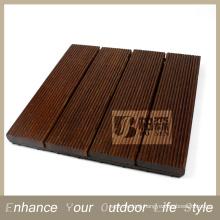 Interlocking tile Flooring tile Merbau wood design floor tiles