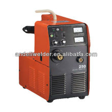 MIG-250Y AC DC IGBT inverseur gaz CO2 blindé machines de soudage mig