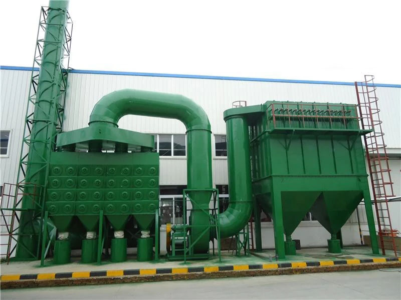 Industrial Dust Ventilation System