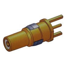 Coaxial D-SUB Signal Signal Contact Male Straight