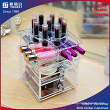 Органайзер макияжа с ящиком и разделителем