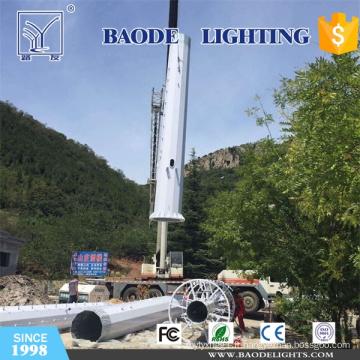 Tour en acier de télécom de 18m GSM pour la route