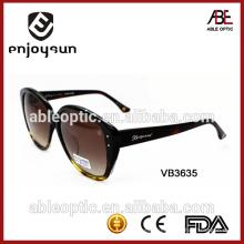 Европейский дизайн верхней моды солнцезащитные очки с оптовой цене