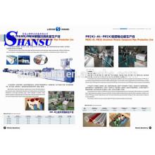 Máquina plástica da tubulação do PVC do PE 50-200mm