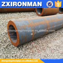 377 * 50 ASTM A106 GR. B GR. C carbono suave calor tubo sem costura de aço laminado