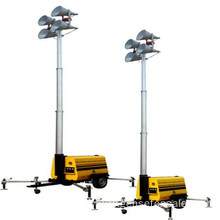 15kw Mobile High Mast Lighting Tower