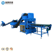 Brazil automatic eco construction soil interlocking brick machine