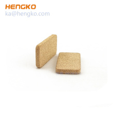 hepa sintered stainless steel bronze porous metal filter for air/oil filter machine filter