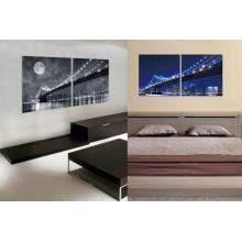 La peinture acrylique de magasins de meubles décoratifs montés muraux