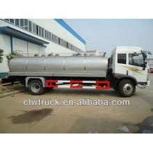 12000L FAW 4x2 milk tanker,milk delivery tanker truck