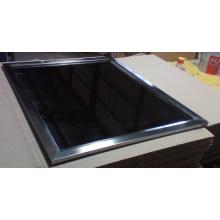 Miroir de cadre en acier inoxydable