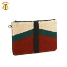 De haute qualité avec le meilleur prix de l'agneau mongol élégant et du véritable sac en fourrure en cuir de Mongolie