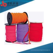 Fábrica Personaliza alta Tenacidade Multipurpose Eco-friendly de Alta Qualidade algodão herringbone malha tublur draw cord