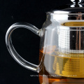 Hot Selling Product Modern Advanced Borosilicate Glass Tea Pot With Infuser