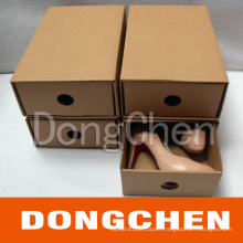 Recybled Corrugated Folding Shoe Package Box