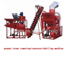 low break rate peanut dehuller /sheller /shelling machine
