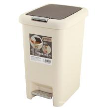 Roulant en plastique Fermer la poubelle (FF-1017)