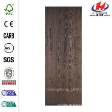 Legacy Textured Flush Hardwood Bored 20 Minuten bewertet Solid Core Walnuss Furnier Composite Innen-Tür-Platte
