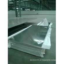 Folha de alumínio 300 x 300 para ventilação