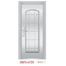 Puerta de acero inoxidable para exteriores (SBN-6728)