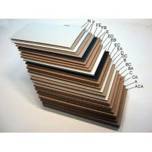 caixa de papelão ondulado que faz o equipamento
