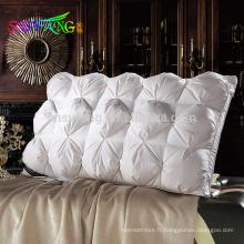 Oreiller de l'hôtel / gros Hôtel polyester remplissage oreiller de couchage