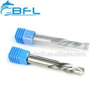 Broca de corte de madera del molino de extremo espiral del molino de extremo del carburo 2 de la flauta del CNC de BFL