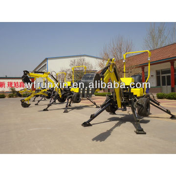 2014 high quality RXDLW mini towable backhoe factory direct sale