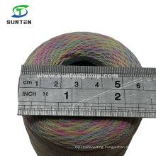 EU Standard Colorful PE/PP/Polyester/Nylon Plastic Twisted/Braided/Baler/Thread/Packing Line/Fishing Net Twine (210D/380D) by Spool/Reel/Bobbin/Hank