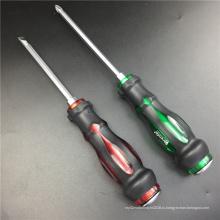 Отвертка с двойной головкой и ручкой PP TPR уникального дизайна