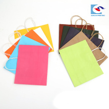 papier d'artisanat personnalisé shopping sacs promotionnels pour les vêtements