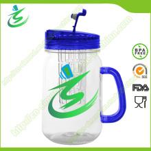 16oz Mason Jar, Kunststoff Wassertrommel mit Griff (IB-A5)