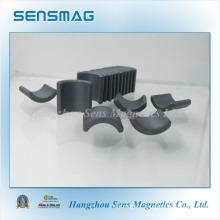 Permanent Ferrite Magnet in Arc Shape Used in Motor