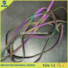 High Visibility Reflection Polyester Band Reflective spandex piping
