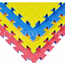 Taekwondo floor tatami used puzzle wrestling mats eva foam tatami mats