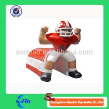 Publicité géante gonflable footballeur gonflable tunnel de football