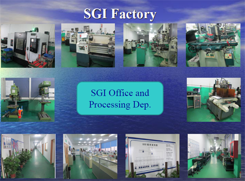 Cnc Milling Machine Components SGI Factory