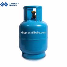 Réservoir de bouteille de gaz GPL en acier vide de 5 kg H295 pour l'Afrique