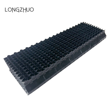 Lebar 145mm PVC Menara Pendingin Air Drift Eliminators