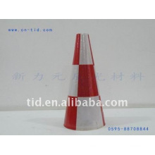 manga de cone de tráfego