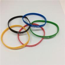 Colourful Sport Custom Logo Silicon Wrist Bands
