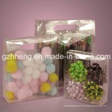 Китай производитель подгонять различные формы прозрачный пластиковый ПВХ / PP / PET Box (складной пакет)