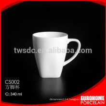 big size cup with handle high quality hotel &restaurant used, promotion mug