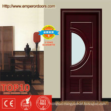 Hot Sale Mahogany Wood Interior Doors for Small Space