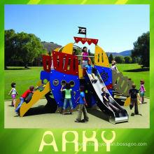 hot children's outdoor magic pirate ship playground equipment