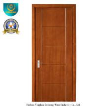 Porte en bois composite solide de style moderne