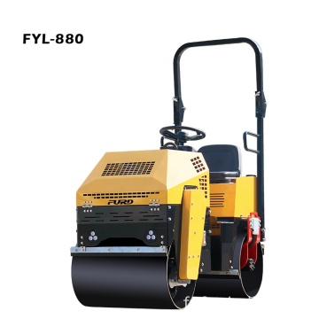 1000kg Hydraulic Tandem Road Roller for South Africa Market