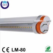 High bright 100lm/w ul dlc listed 0.6m tube8 led light tube