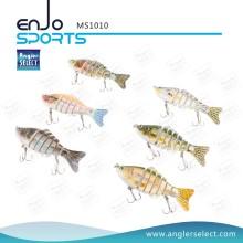 Angler Select Multi Jointed Fischen Leben-wie Köder Bass Köder Swimbait Shallow Angelgerät Angelköder (MS1010)